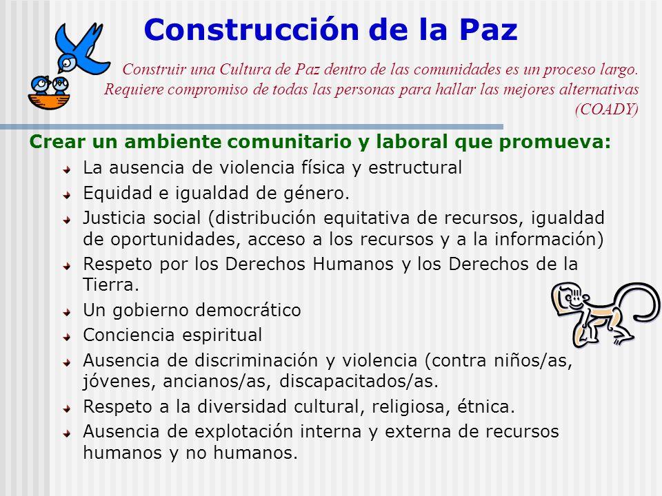 Construcción de la Paz