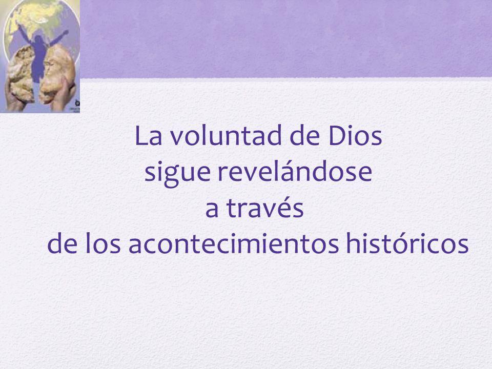 de los acontecimientos históricos
