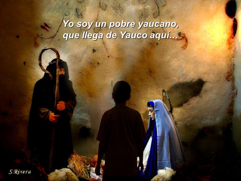 Yo soy un pobre yaucano, que llega de Yauco aquí…