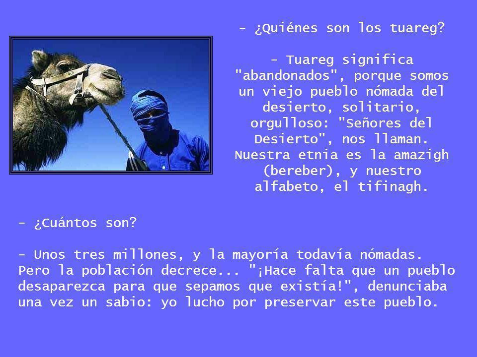 - ¿Quiénes son los tuareg