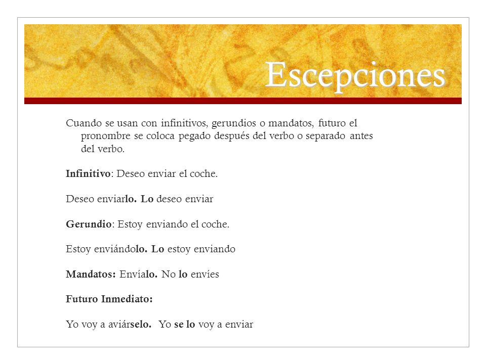 Escepciones