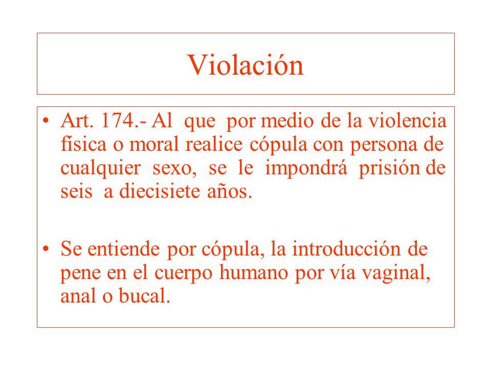 Violación