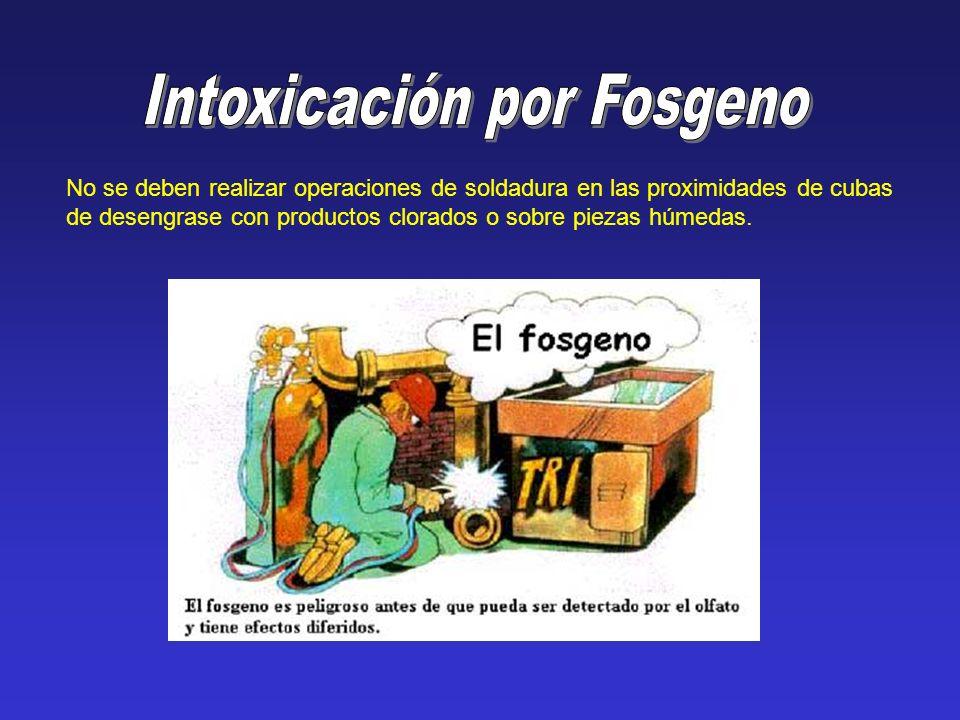Intoxicación por Fosgeno