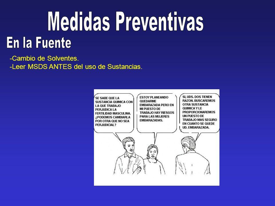 Medidas Preventivas En la Fuente