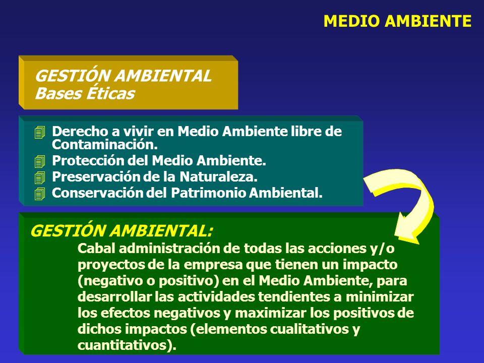 GESTIÓN AMBIENTAL Bases Éticas
