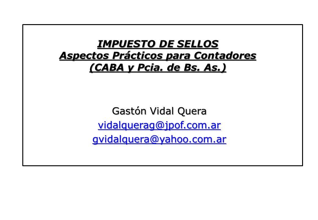 Gastón Vidal Quera vidalquerag@jpof.com.ar gvidalquera@yahoo.com.ar