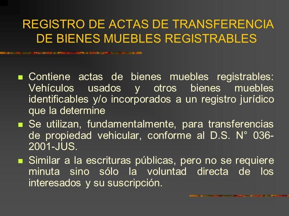 Jorge luis gonzales loli abogado notario de lima ppt for Registro de bienes muebles sevilla