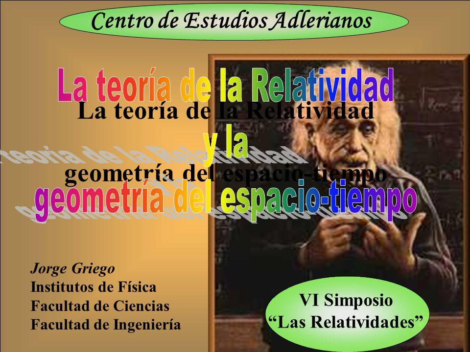 La teoría de la Relatividad y la geometría del espacio-tiempo