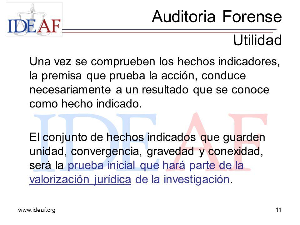 Auditoria Forense Utilidad