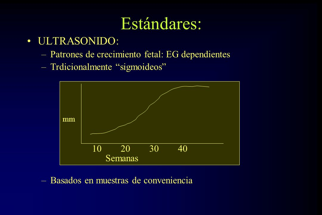 Estándares: ULTRASONIDO:
