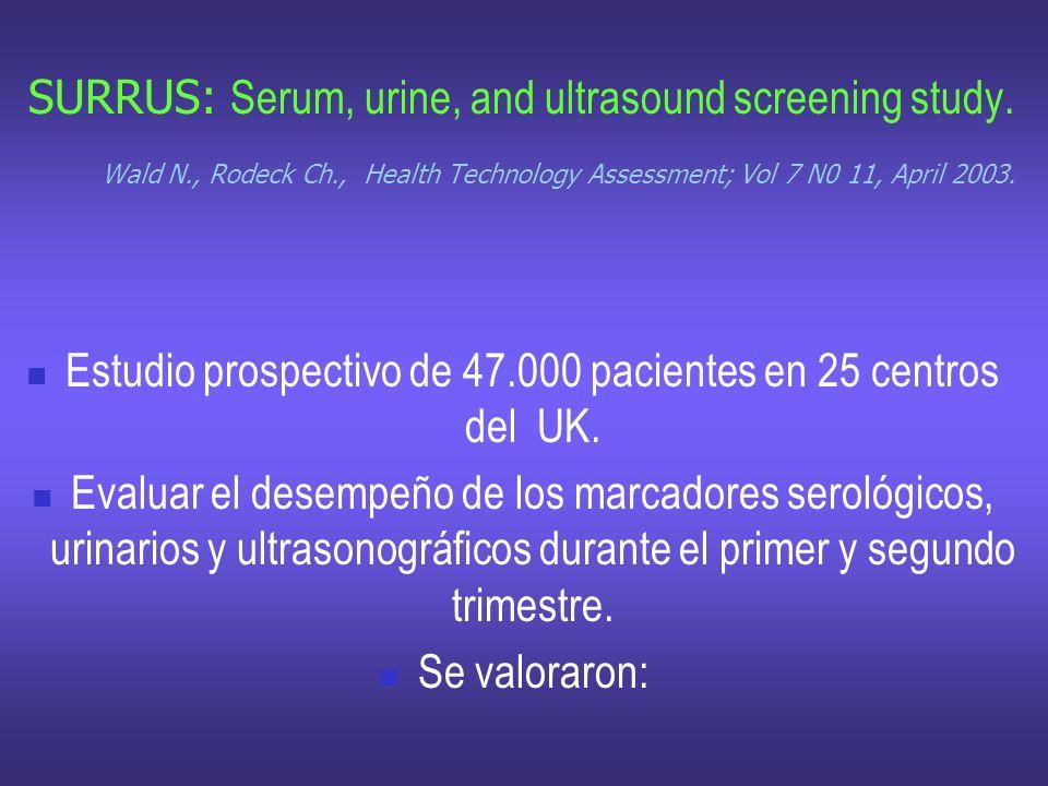 Estudio prospectivo de 47.000 pacientes en 25 centros del UK.