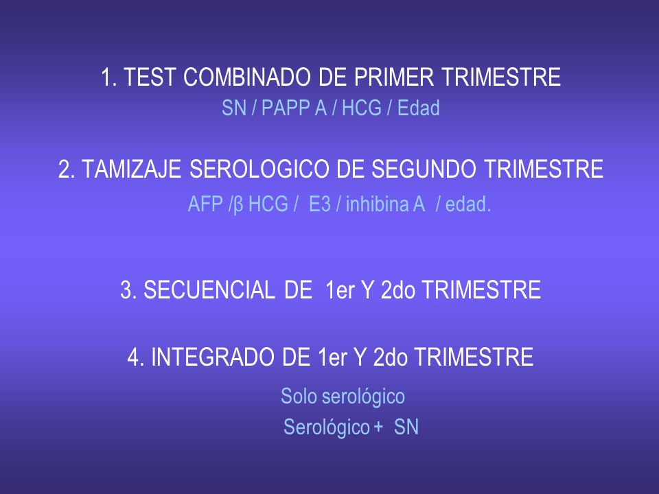 1. TEST COMBINADO DE PRIMER TRIMESTRE