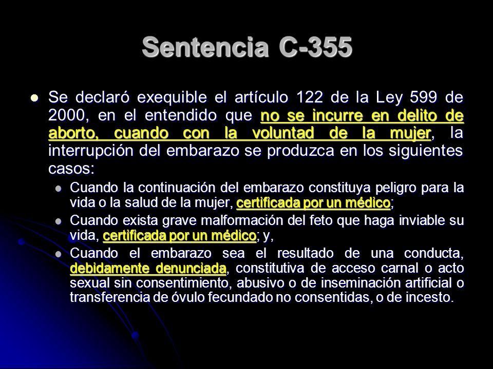 Sentencia C-355