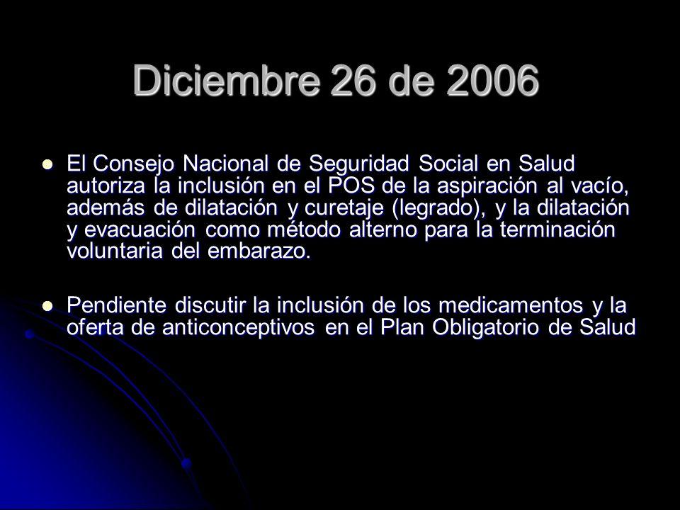 Diciembre 26 de 2006