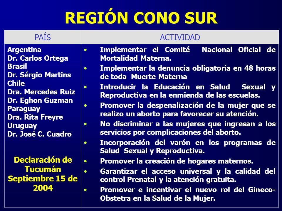 Declaración de Tucumán