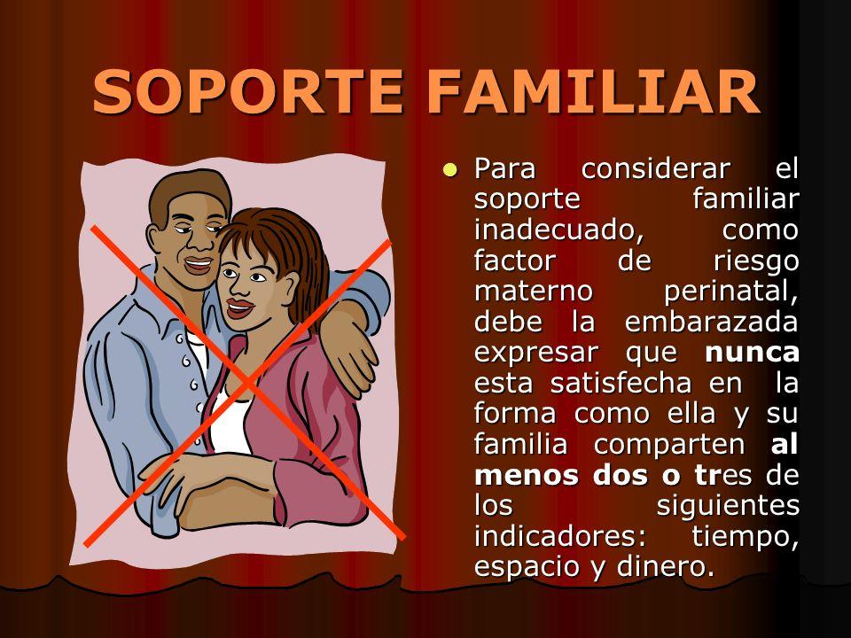 SOPORTE FAMILIAR
