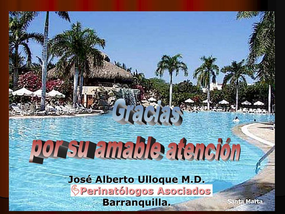 José Alberto Ulloque M.D. Perinatólogos Asociados