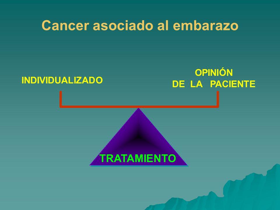 Cancer asociado al embarazo