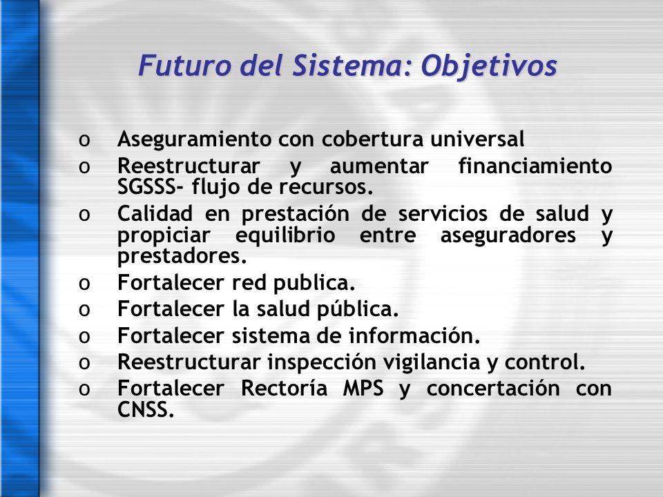 Futuro del Sistema: Objetivos