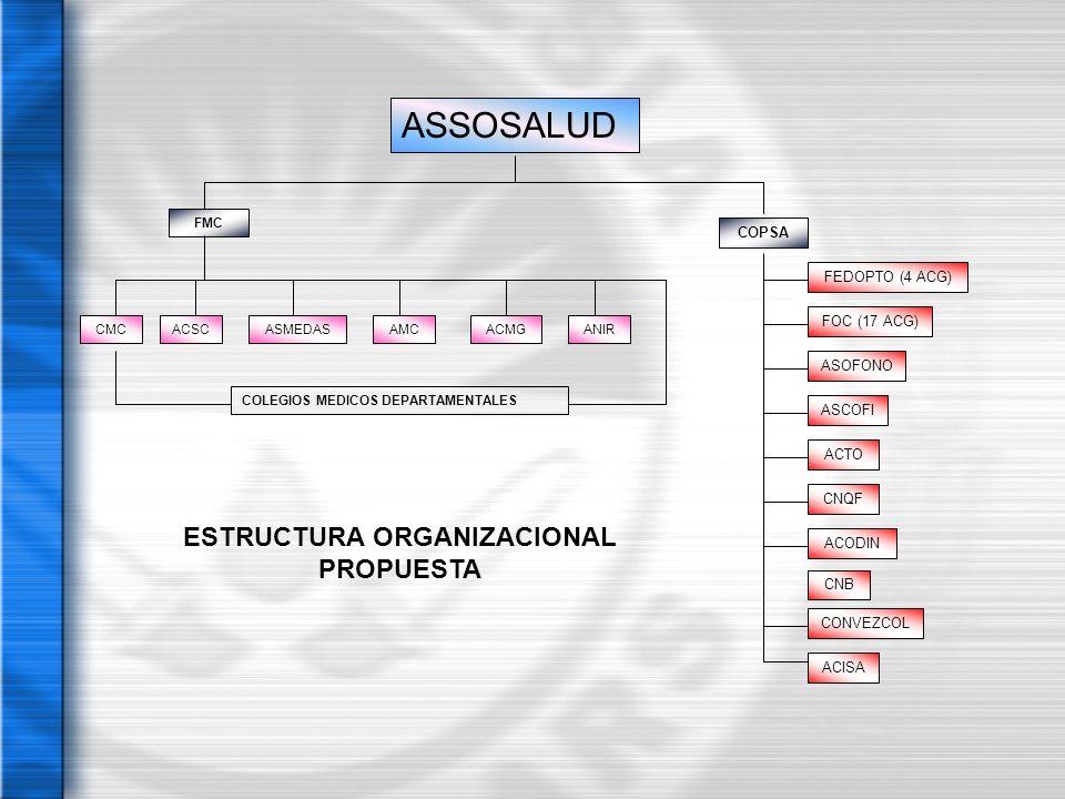 ESTRUCTURA ORGANIZACIONAL PROPUESTA