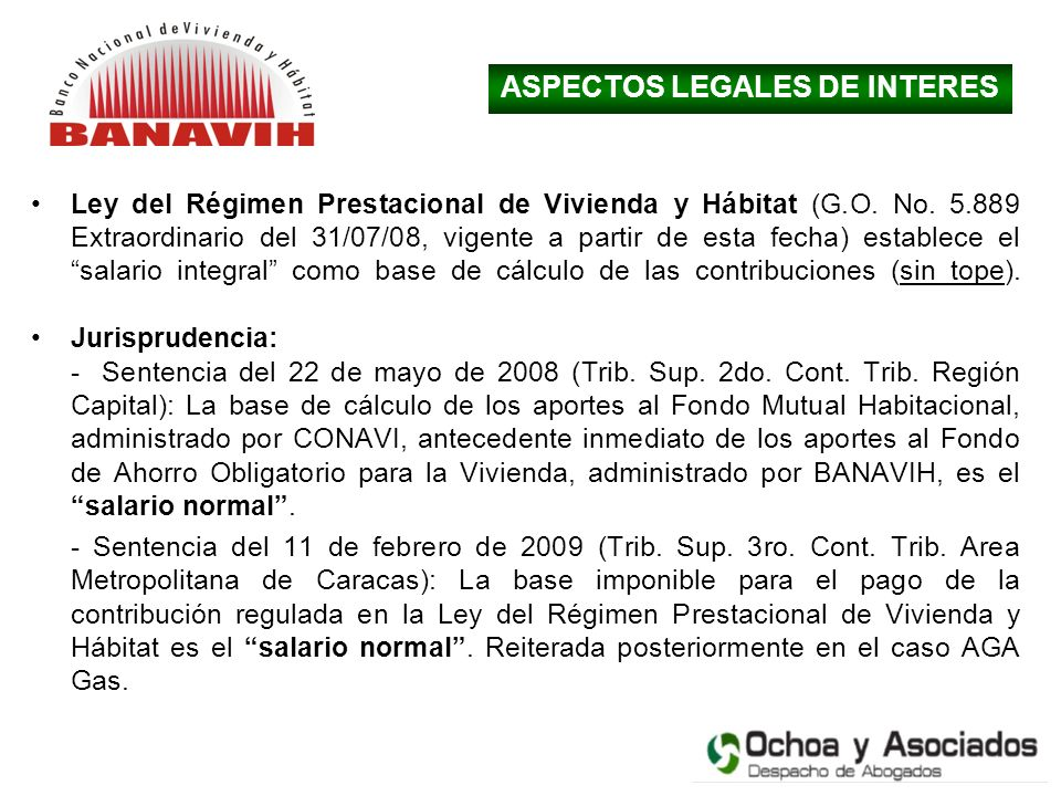 ASPECTOS LEGALES DE INTERES