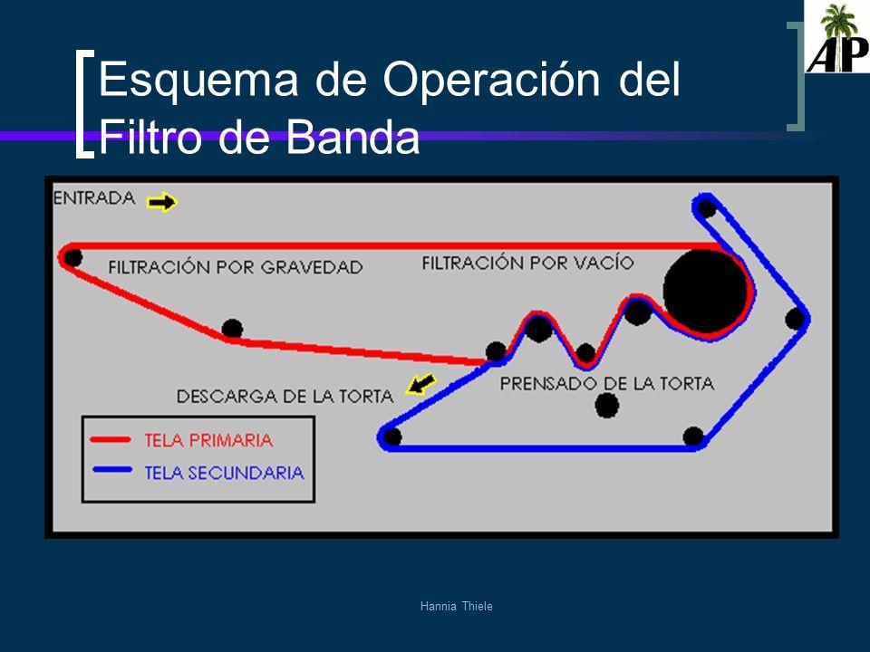 Esquema de Operación del Filtro de Banda