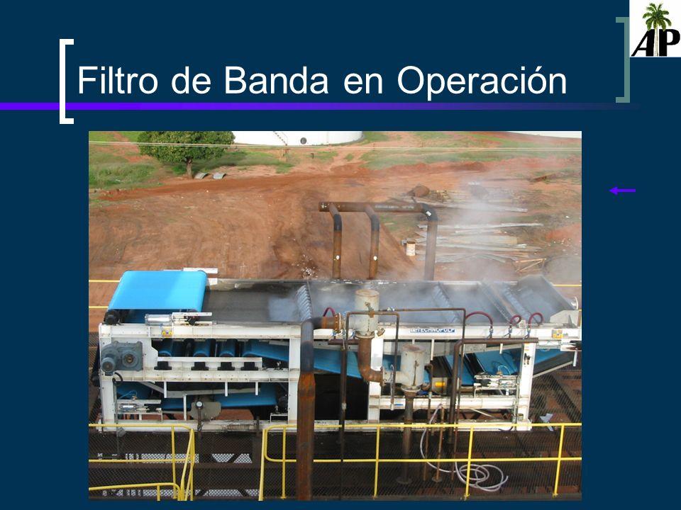 Filtro de Banda en Operación