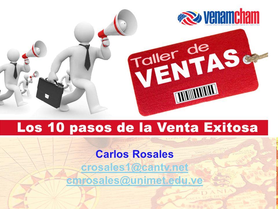 Ca Carlos Rosales crosales1@cantv.net cmrosales@unimet.edu.ve