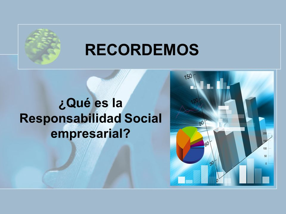 ¿Qué es la Responsabilidad Social empresarial