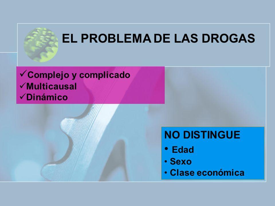 EL PROBLEMA DE LAS DROGAS