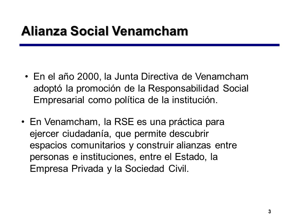 Alianza Social Venamcham