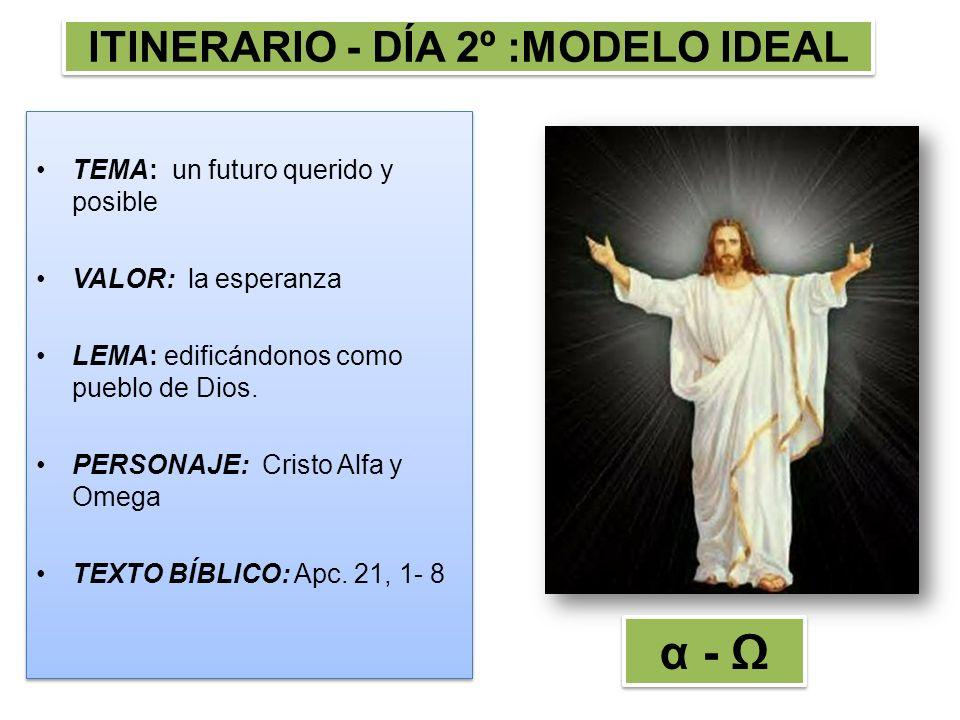 ITINERARIO - DÍA 2º :MODELO IDEAL