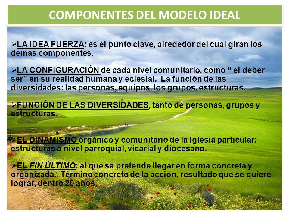 COMPONENTES DEL MODELO IDEAL