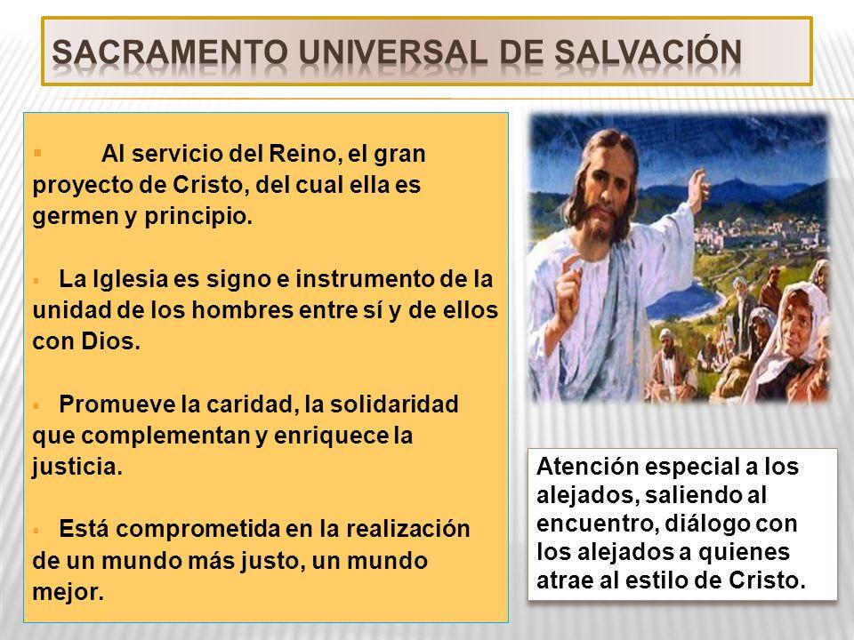 SACRAMENTO UNIVERSAL DE SALVACIÓN