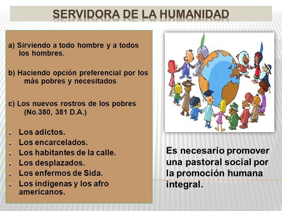 SERVIDORA DE LA HUMANIDAD