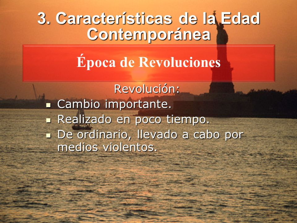 Introducci n concepto etapas caracter sticas ppt descargar for Caracteristicas de la contemporanea