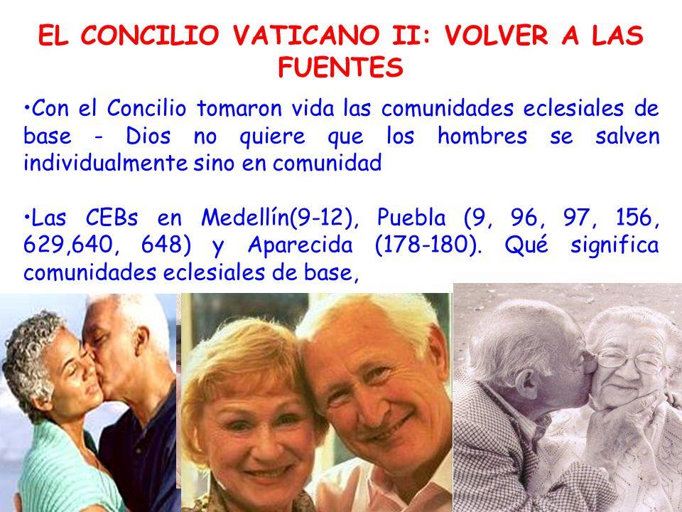 EL CONCILIO VATICANO II: VOLVER A LAS FUENTES