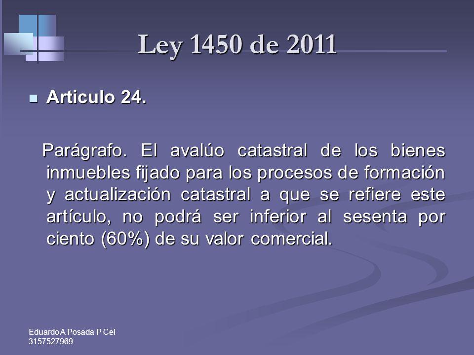 Ley 1450 de 2011 Articulo 24.