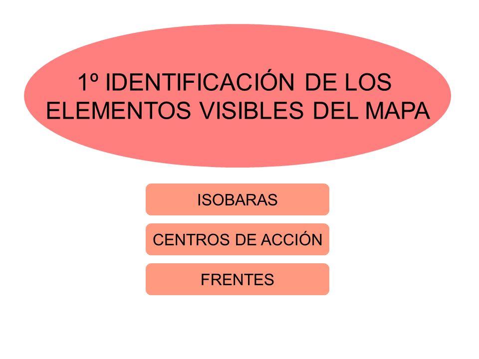 1º IDENTIFICACIÓN DE LOS ELEMENTOS VISIBLES DEL MAPA
