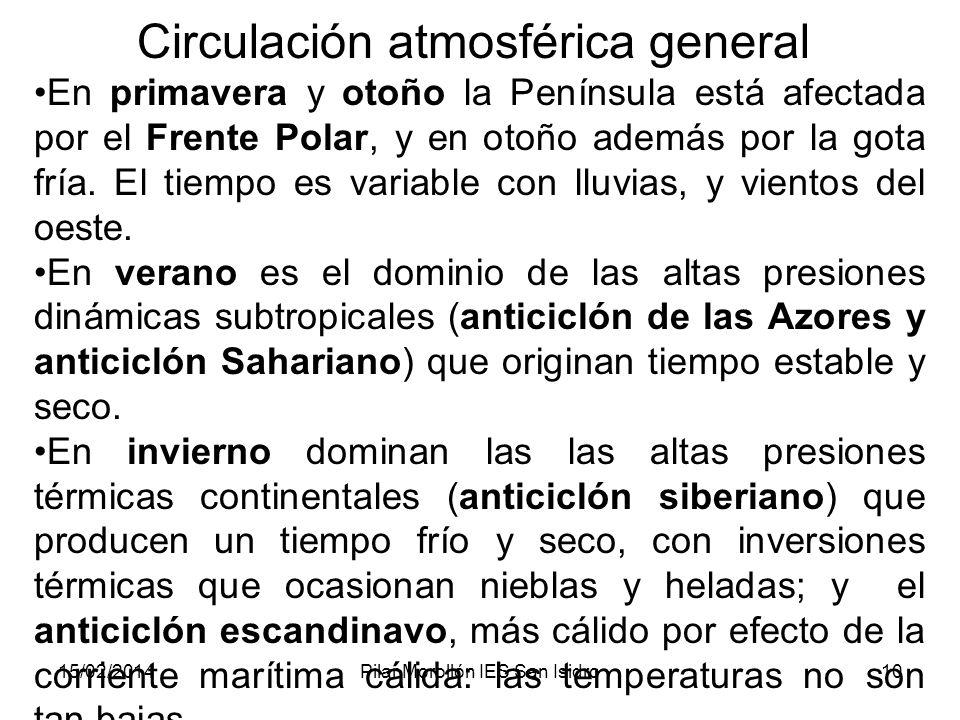 Circulación atmosférica general