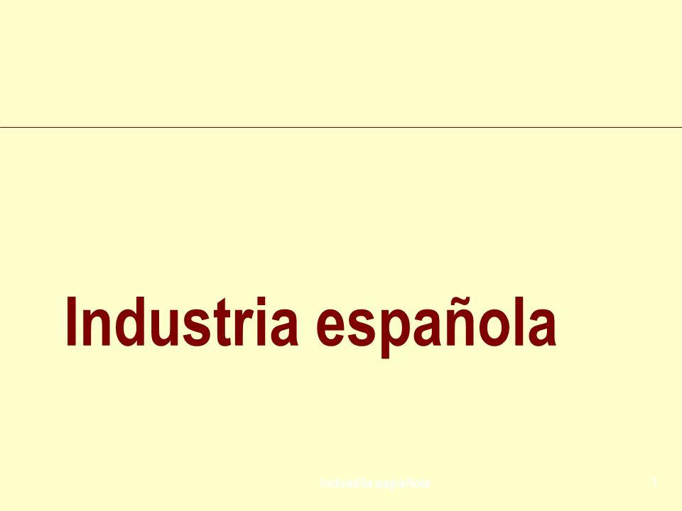 Industria española Industria española