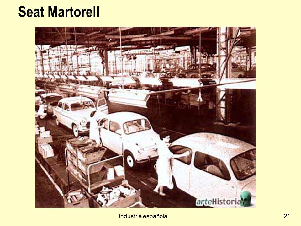Seat Martorell Industria española