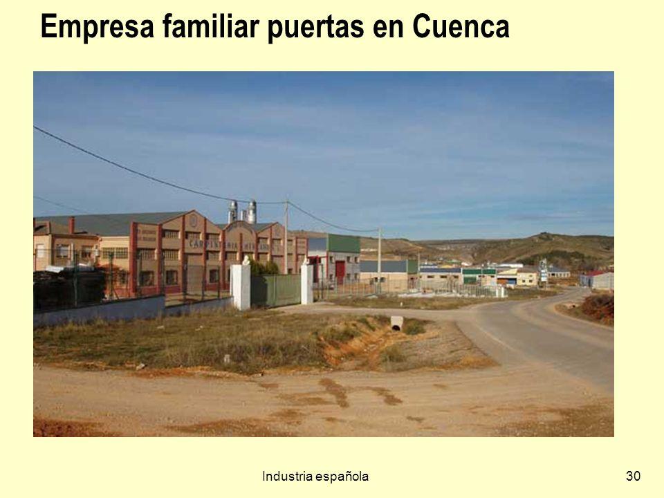 Empresa familiar puertas en Cuenca