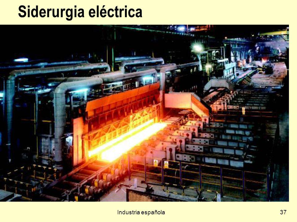 Siderurgia eléctrica Industria española