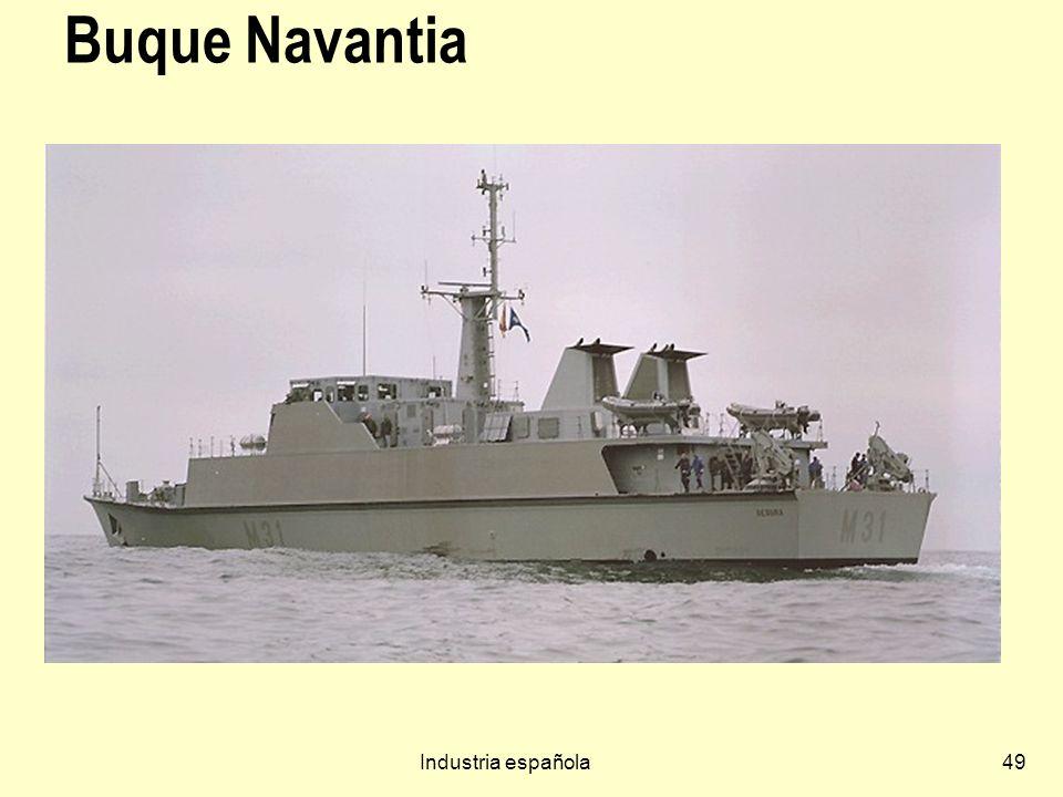 Buque Navantia Industria española