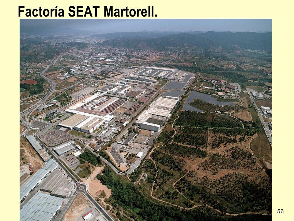 Factoría SEAT Martorell.