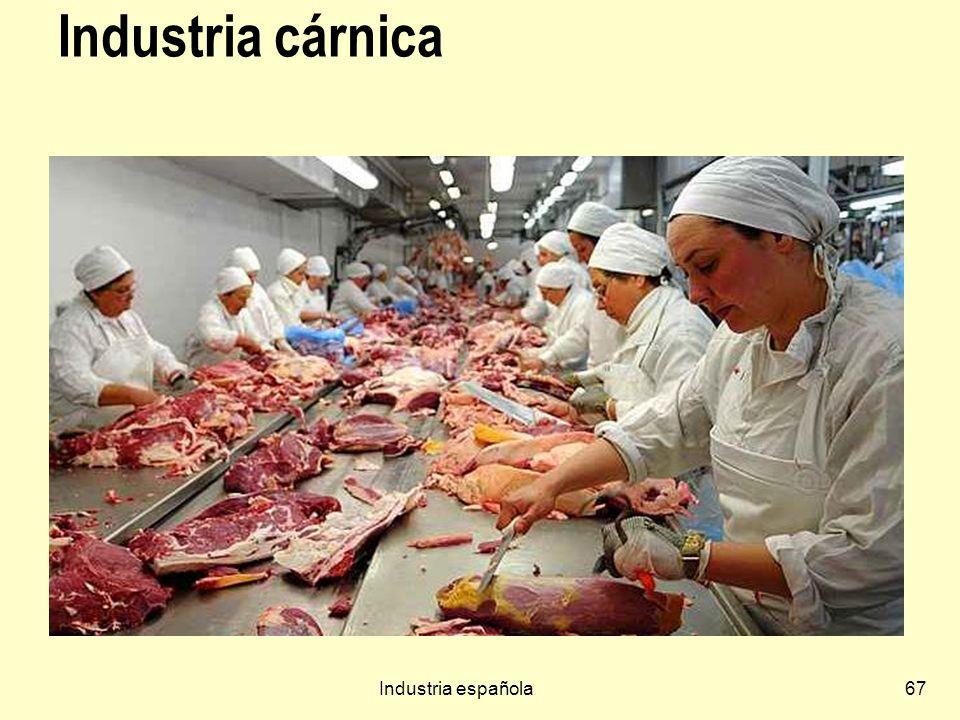 Industria cárnica Industria española