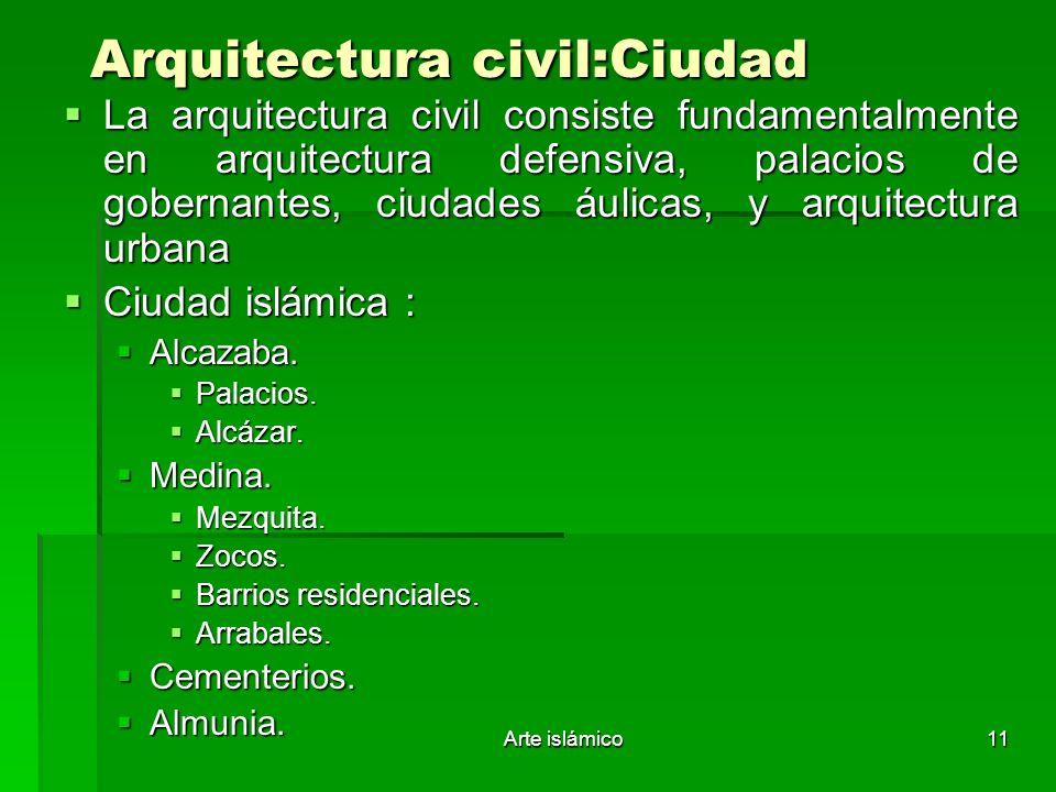 Arquitectura civil:Ciudad