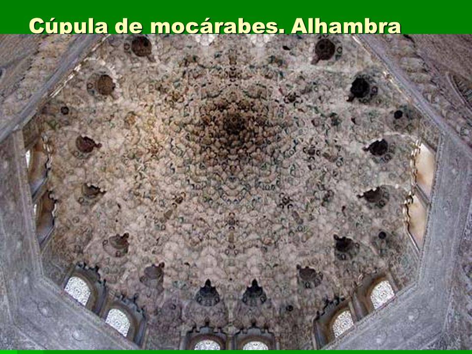 Cúpula de mocárabes. Alhambra