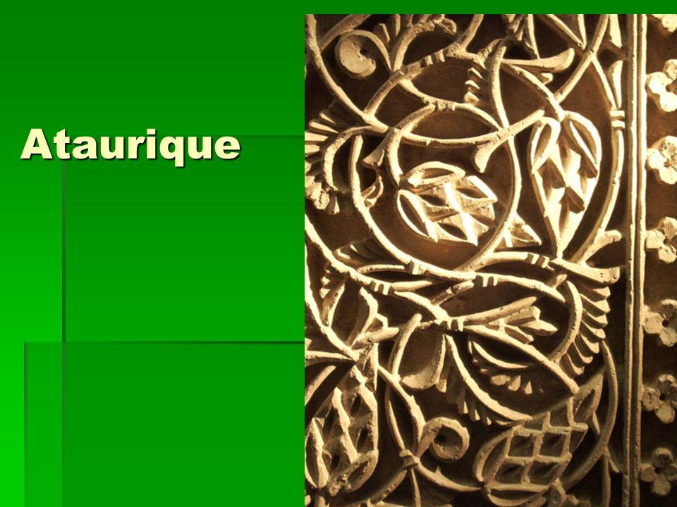 Ataurique Arte islámico